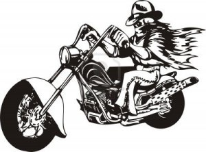 8777469-biker-on-motorcycle-vector-illustration