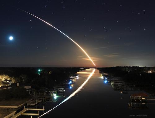 Shooting Star Intense And Beautiful